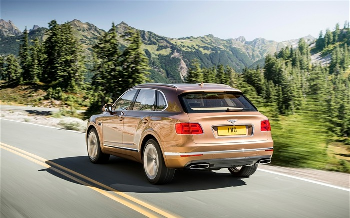 2016 Bentley Bentayga Luxury HD Wallpaper 09