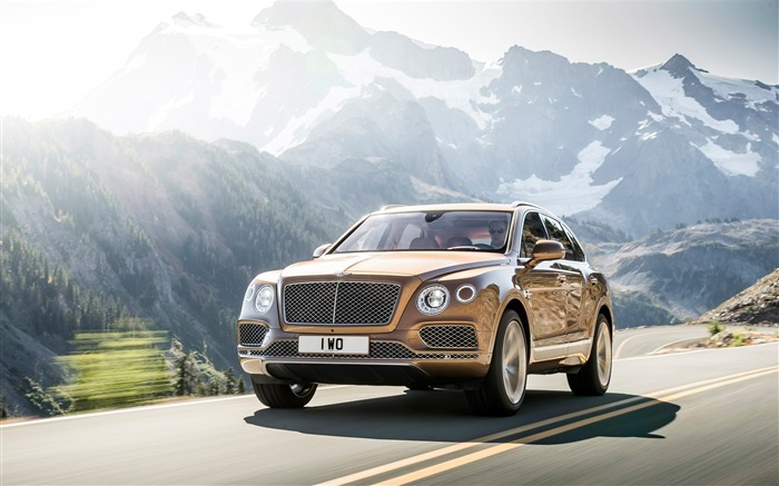 2016 Bentley Bentayga Luxury HD Wallpaper Views:5700