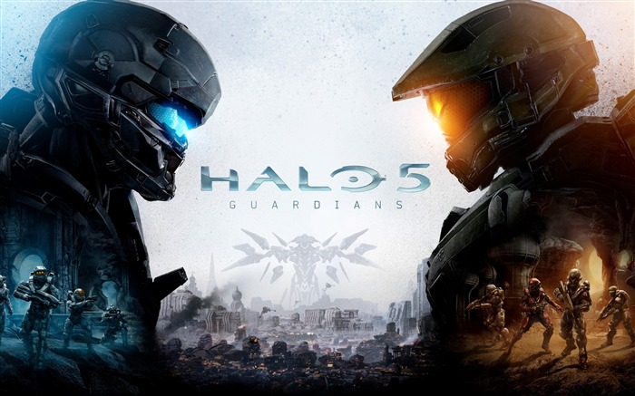 Halo 5 Guardian Game HD Widescreen Wallpaper Views:5703