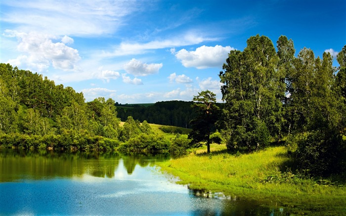 Nature Landscape Lake-High Quality Wallpaper Views:2646