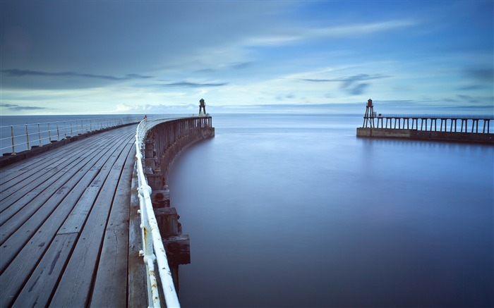 pier sea water mooring-Photography HD wallpaper Views:2014
