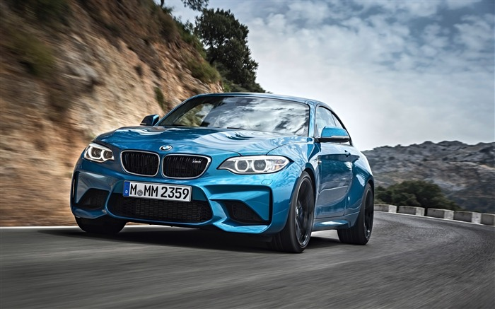 2016 BMW M2 Coupe Auto HD Wallpaper Views:12043