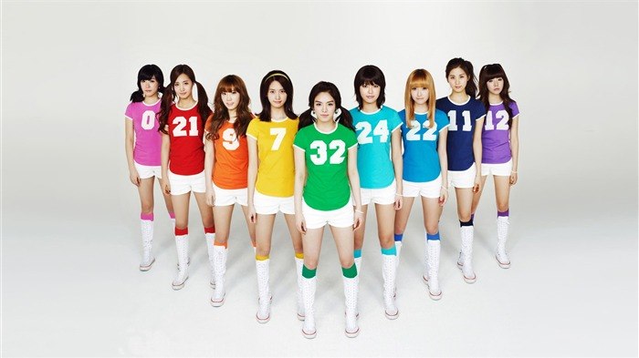 Girls Generation sport outfit-Photo HD Wallpaper Views:1643