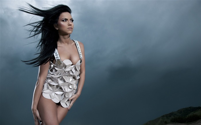 inna music dress-Photo HD Wallpaper Views:1941