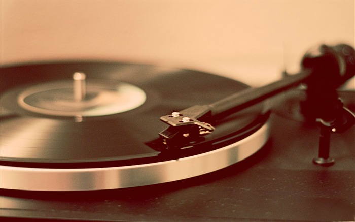 turntable record player-Music HD Wallpaper Views:1058