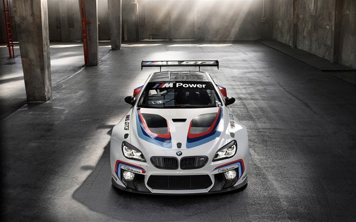 Title:2016 BMW M6 GT3 Auto HD Wallpaper Views:2430