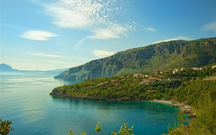 Amazing coast italy-HD Widescreen Wallpaper Views:1710