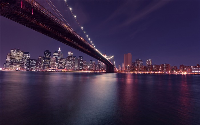 Cities Night Landscape Theme HD Wallpaper Views:5966