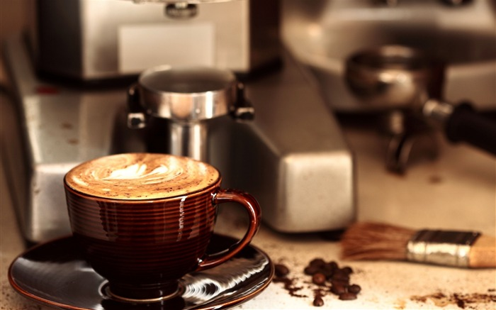 Coffee Drink Food Theme HD Desktop Wallpaper 04 Views:1859