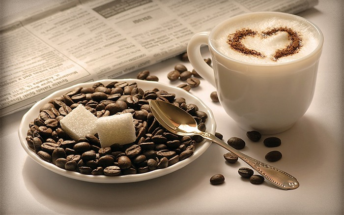 Coffee Drink Food Theme HD Desktop Wallpaper 16 Views:1035
