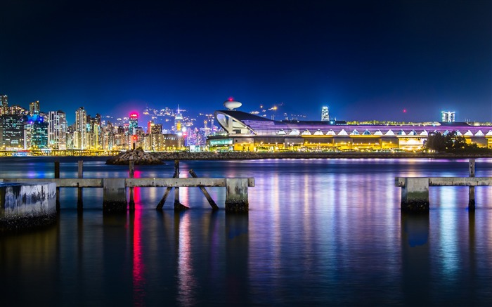 Cruise terminal victoria harbour-Cities HD Wallpaper Views:1748