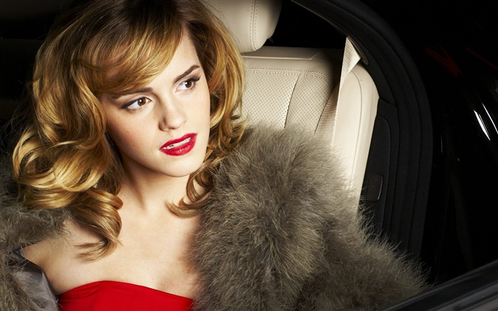 Emma Watson Blonde Beauty-photo HD Desktop Wallpaper Views:1635