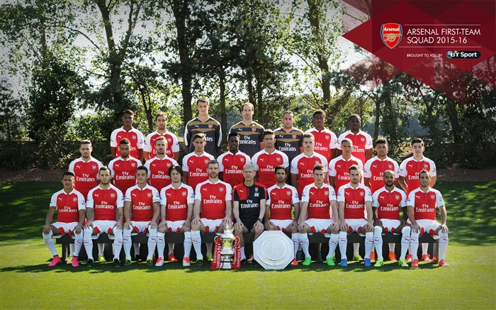 2015-2016 Arsenal Football Club Wallpaper Views:6744