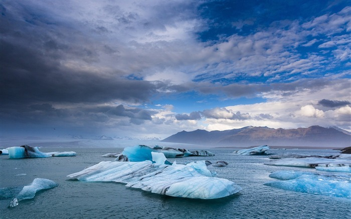 Iceland ice landscape-Nature Photo HD Wallpaper Views:2293