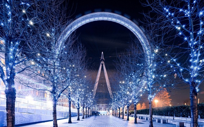 London eye ferris wheel-Cities HD Wallpaper Views:1405