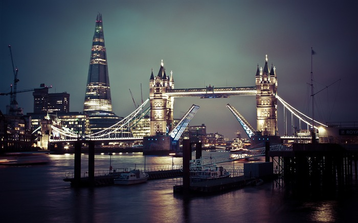 London tower bridge thames-Cities HD Wallpaper Views:1784