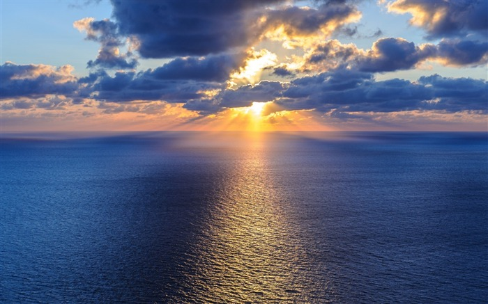 Ocean sea horizon-scenery HD Wallpaper Views:2644