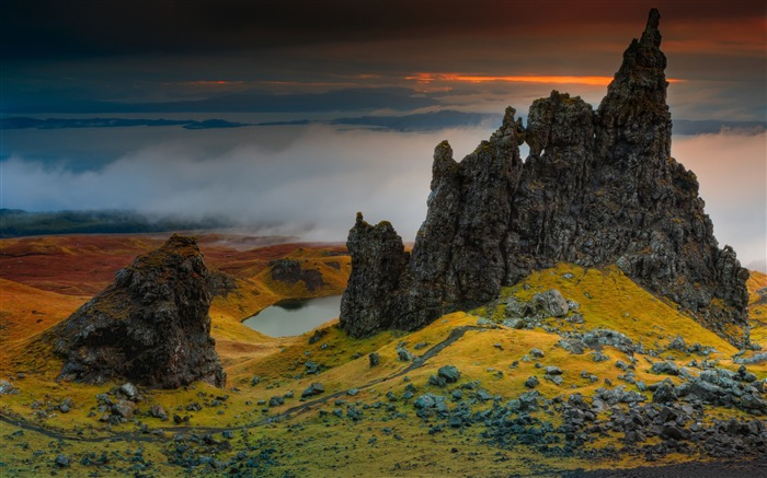 Scotland beautiful landscape-Nature Photo HD Wallpaper Views:2310