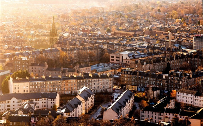 Scotland edinburgh buildings-High Quality Wallpaper Views:904