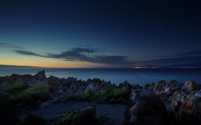 Title:South africa ocean night beach-scenery HD Wallpaper Views:1134