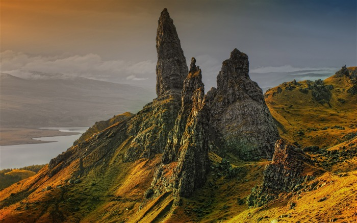 Storr hill scotland-Nature Photo HD Wallpaper Views:1277