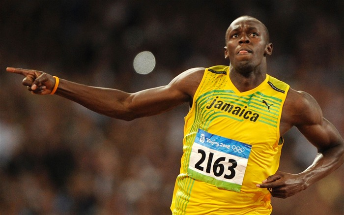 Usain Bolt Jamaica Sprint Sports HD Wallpaper Views:4524