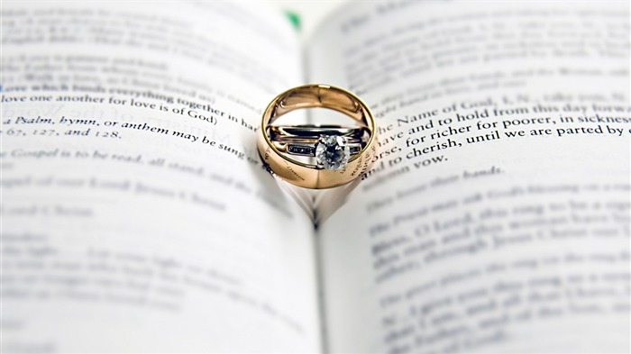 Wedding ring close up-High Quality Wallpaper Views:1182