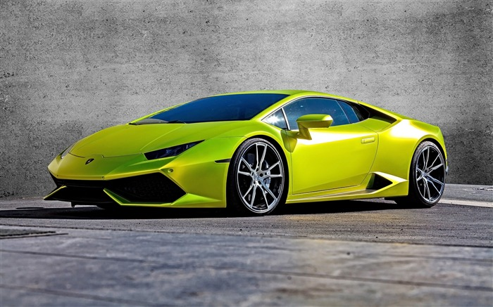 2015 Lamborghini Huracan Supercar HD Wallpaper Views:4643