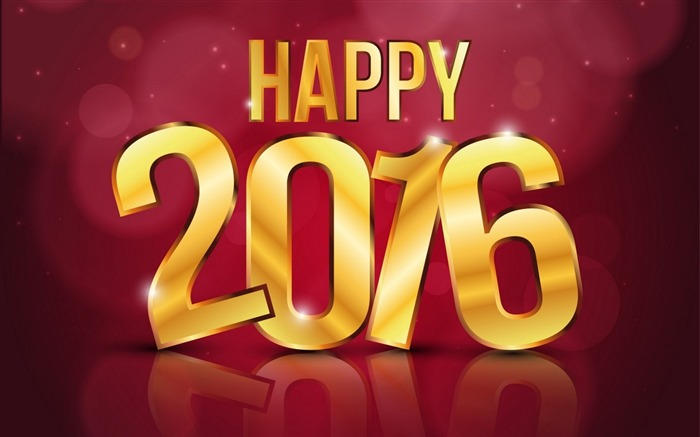 2016 Happy New Year HD Theme Wallpaper Views:9637