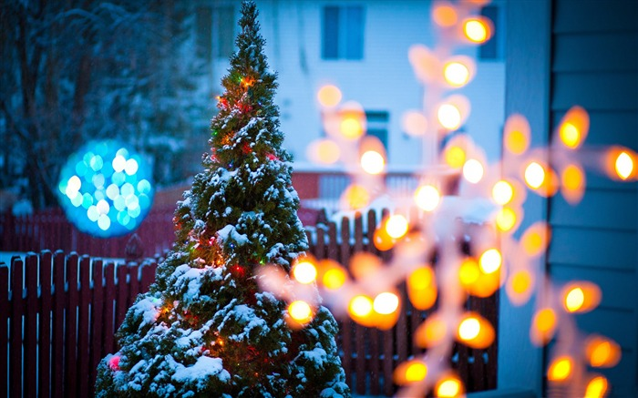 Christmas eve light-2016 Merry Christmas Wallpaper Views:2431