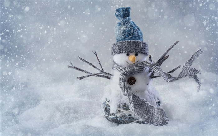 Christmas snowman-2016 Merry Christmas Wallpaper Views:2301