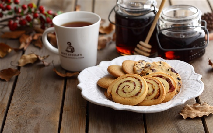 Cookies pastries food-photography HD wallpaper Views:2818