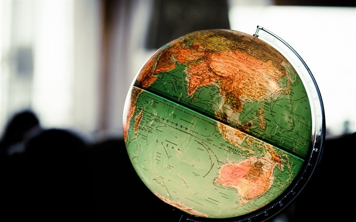 Globe surface ball-photography HD wallpaper Views:1784