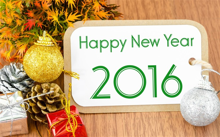 Happy new year-2016 Merry Christmas Wallpaper Views:2346
