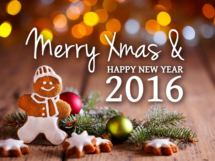 Merry xmas new year-2016 Merry Christmas Wallpaper Views:2614