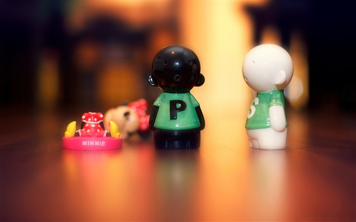 Salt pepper toy-photography HD wallpaper Views:2319