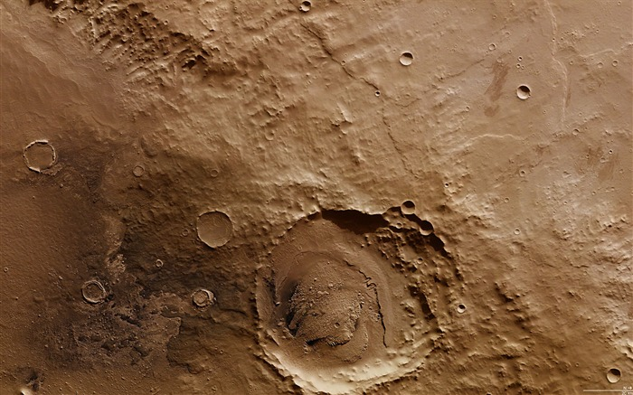 Schiaparelli crater-Universe Space HD Wallpaper Views:2218