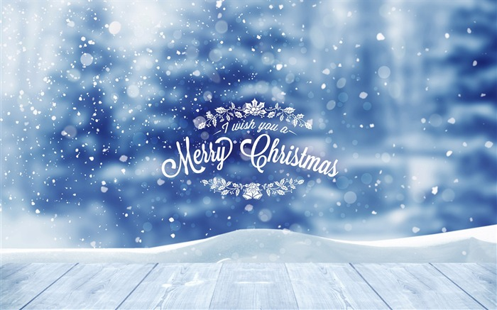 Snow christmas-2016 Merry Christmas Wallpaper Views:2087