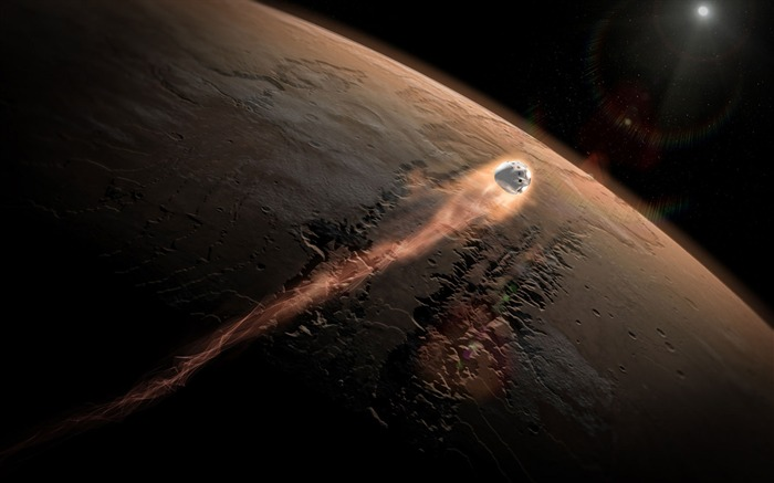 Spacex dragon mars-Universe Space HD Wallpaper Views:2468