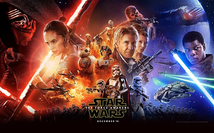 Star Wars The Force Awakens 2015 HD Wallpaper 15 Views:2012