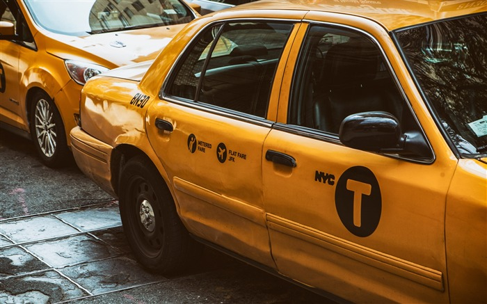 Taxis car New York-photography HD wallpaper Views:2478