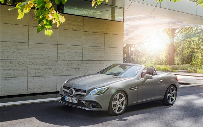 2016 Mercedes-Benz SLC Auto HD Wallpaper Views:4182