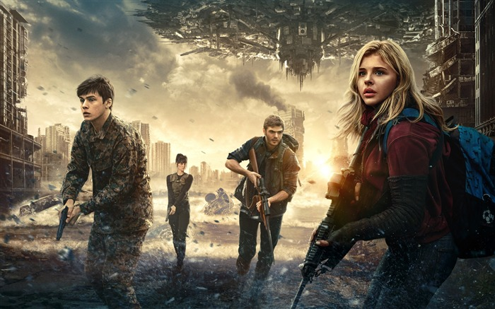 2016 The 5th wave-Movie Posters Wallpaper Views:2422