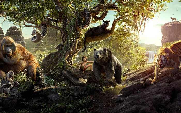 2016 The Jungle Book-Movie Posters Wallpaper Views:2494