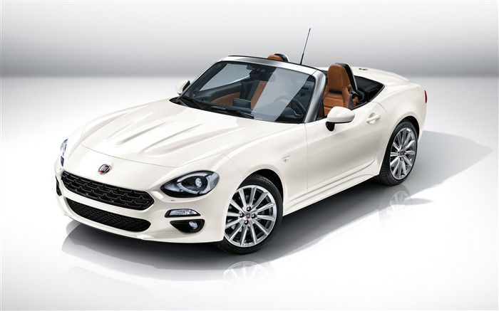2017 Fiat 124 Spider Luxury Auto HD Wallpaper Views:5208