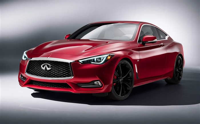 2017 Red Infiniti Q60 Series Auto HD Wallpaper Views:3742