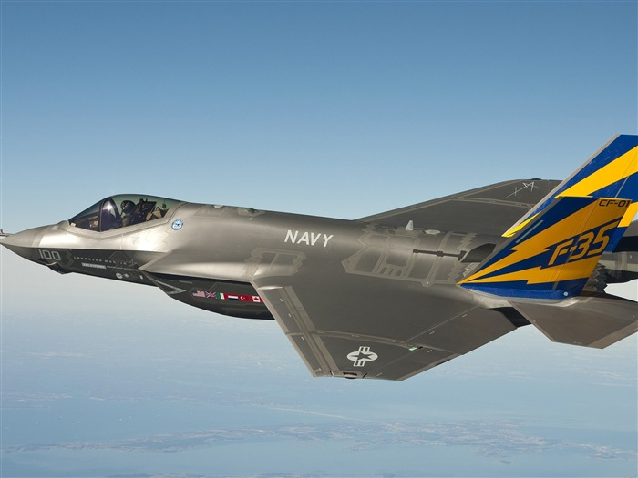 F35 fighter jet-High Quality HD Wallpaper Views:1772