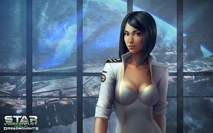 Miss Summer-Star Conflict Game HD Wallpapers Views:1395