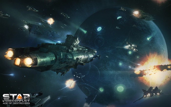 SC AoD-Star Conflict Game HD Wallpaper Views:1865