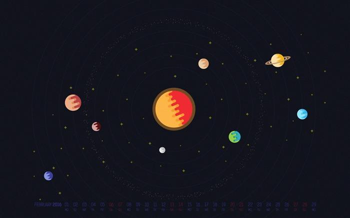 february 2016 calendar desktop themes wallpaper album list
